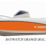 RAL 2004 kleur Baywatch Orange